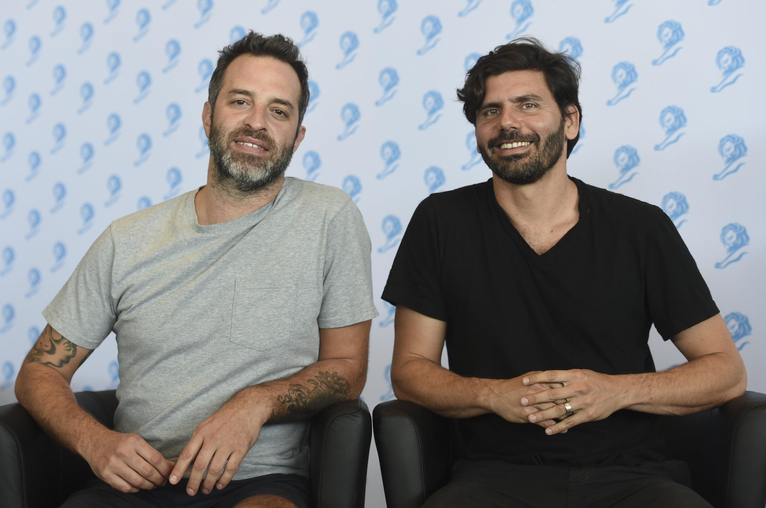 Circus co-founders Ignacio Liaudat (left) and Bruno Lambertini