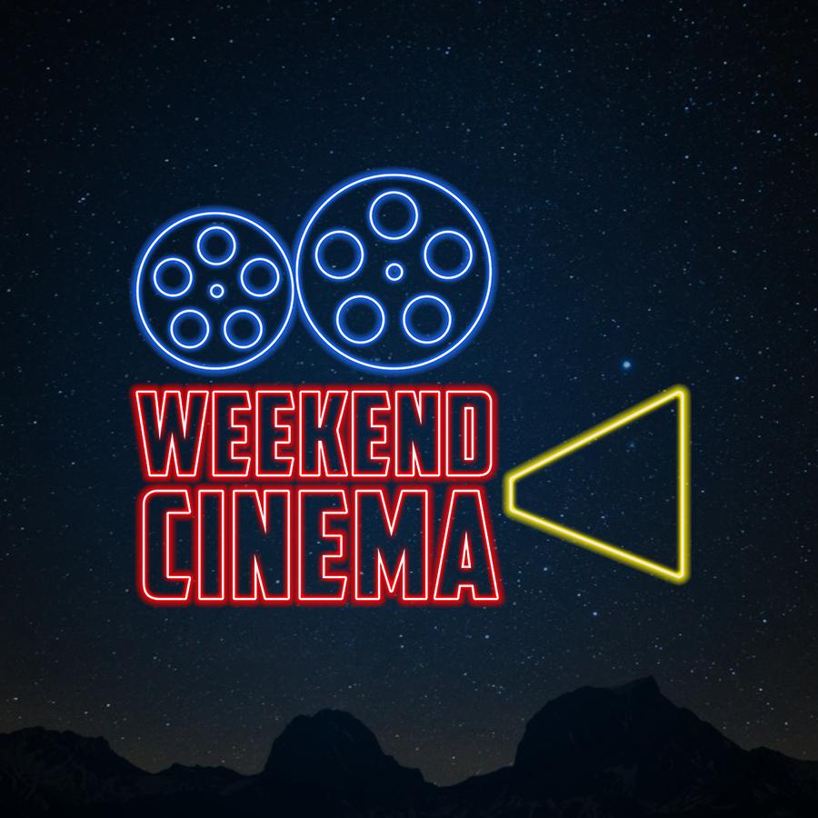Weekend Cinema LOGO (neon theme)