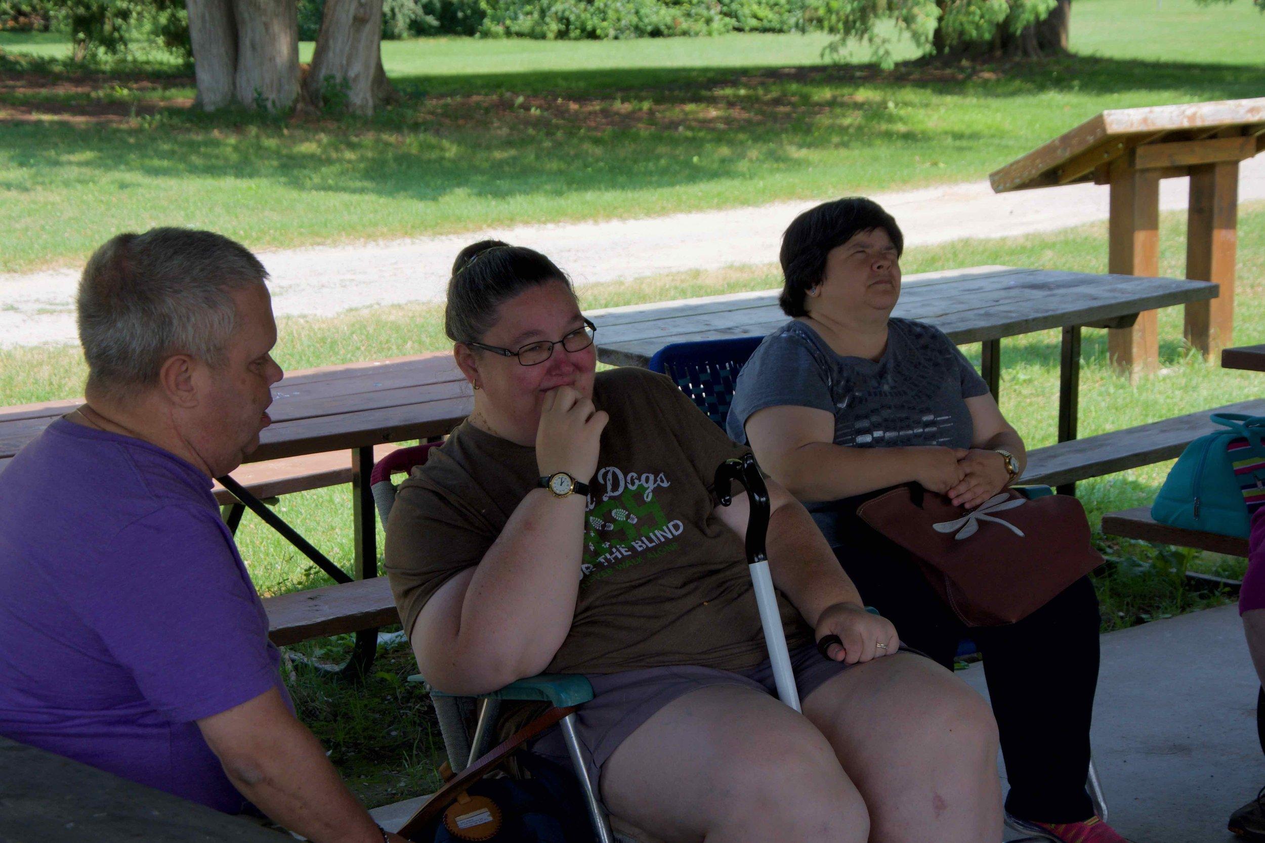 CCB Zoo Picnic - John, Lynn & Deborah