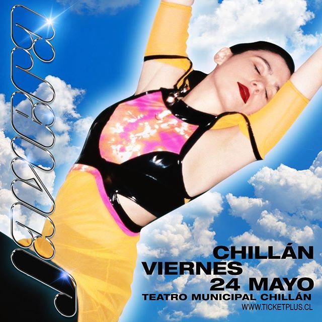 Chillán! ❤️ Nos vemos este viernes 24 de Mayo, link tickets en mi historia. ☁️