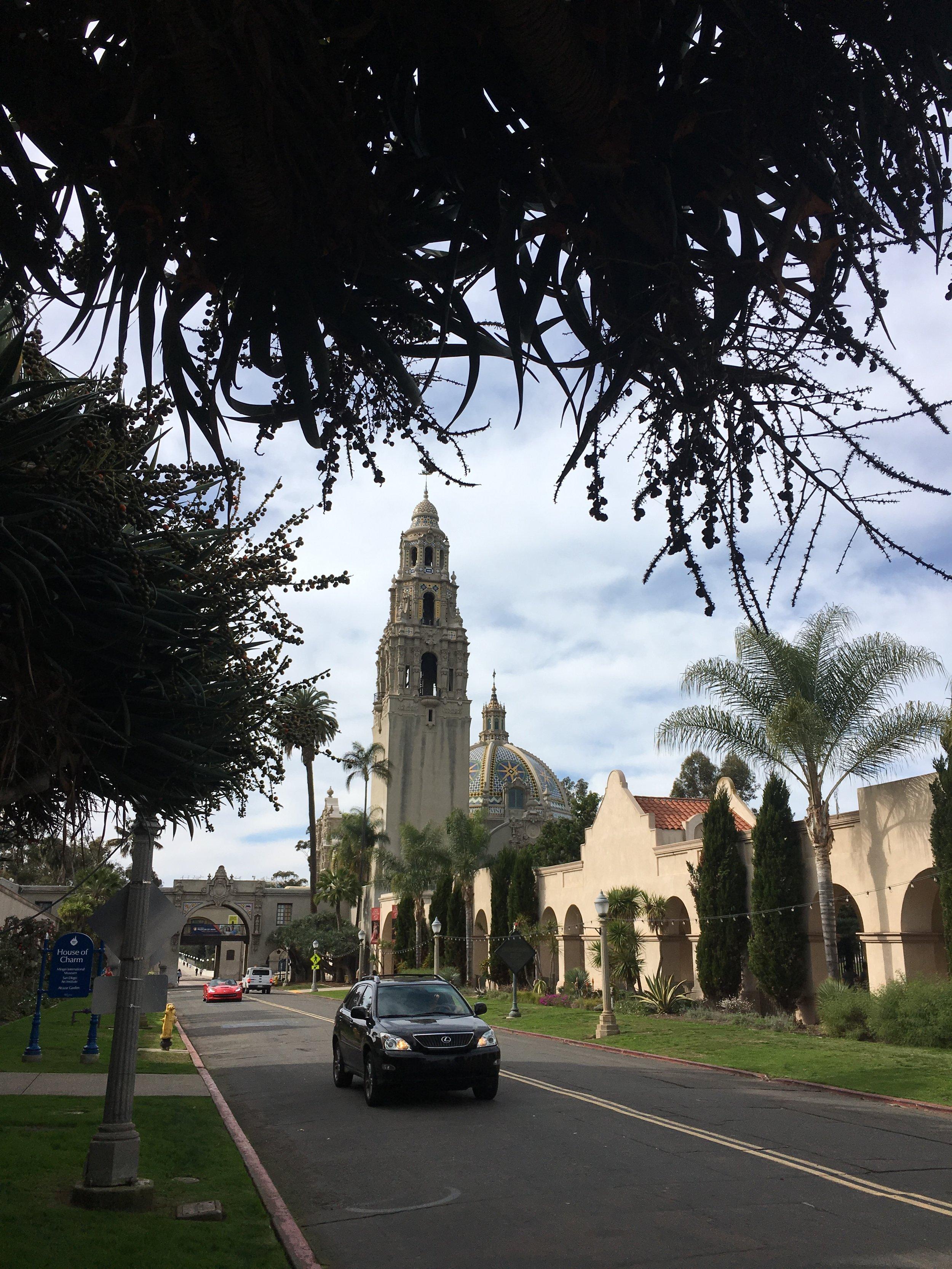 Balboa Park in San Diego, CA