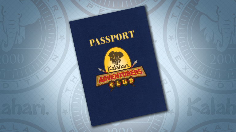 - PASSPORT TO ADVENTURE
