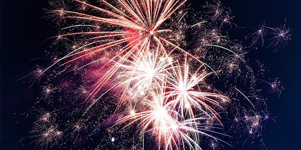 Beautiful fireworks can often by a fire hazard if not respected and used appropriately.