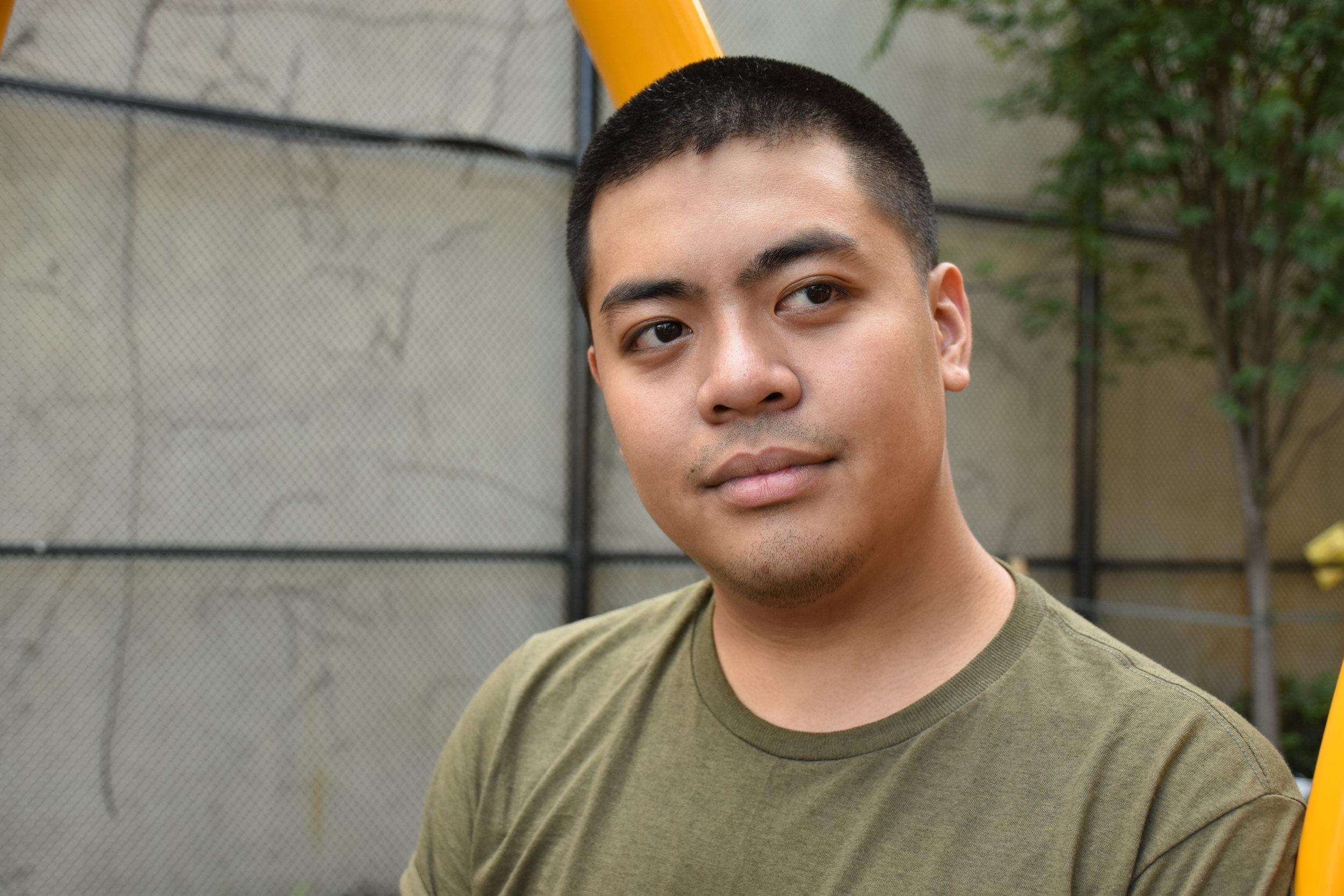 AKIN host Hubert Silva. Photo by Crystal Yu.