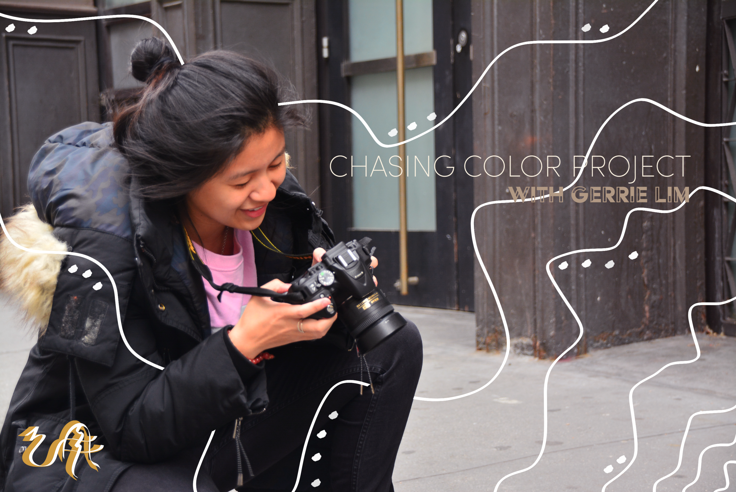 The Chasing Colors Project - AKIN collaborates with Gerrie Lim, the photographer and mastermind behind the Chasing Colors Project. Gerrie hopes to transcend the P.O.C. community by using people of color as their primary subjects in their storytelling.