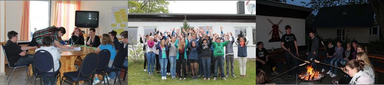 Rund 35 Schülervertreter aus dem ganzen Kreis und allen Schularten zog es am 30. April in die Jugendherberge nach Stralsund/Devin.