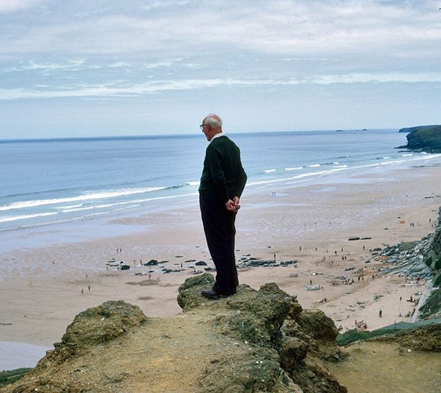 'Great Grandad from Afar'  A series of photographs curated by TEACAKE. Shot in the 60's and 70's by @tomculleystudio across the beautiful British Isles.  #daytrip #britain #family #holiday #photography #35mmphotography #35mm #35mmfilm