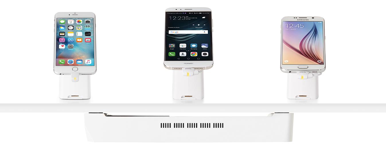Los dispositivos InVue con Insight habilitado recolectan la información de los dispositivos expuestos.