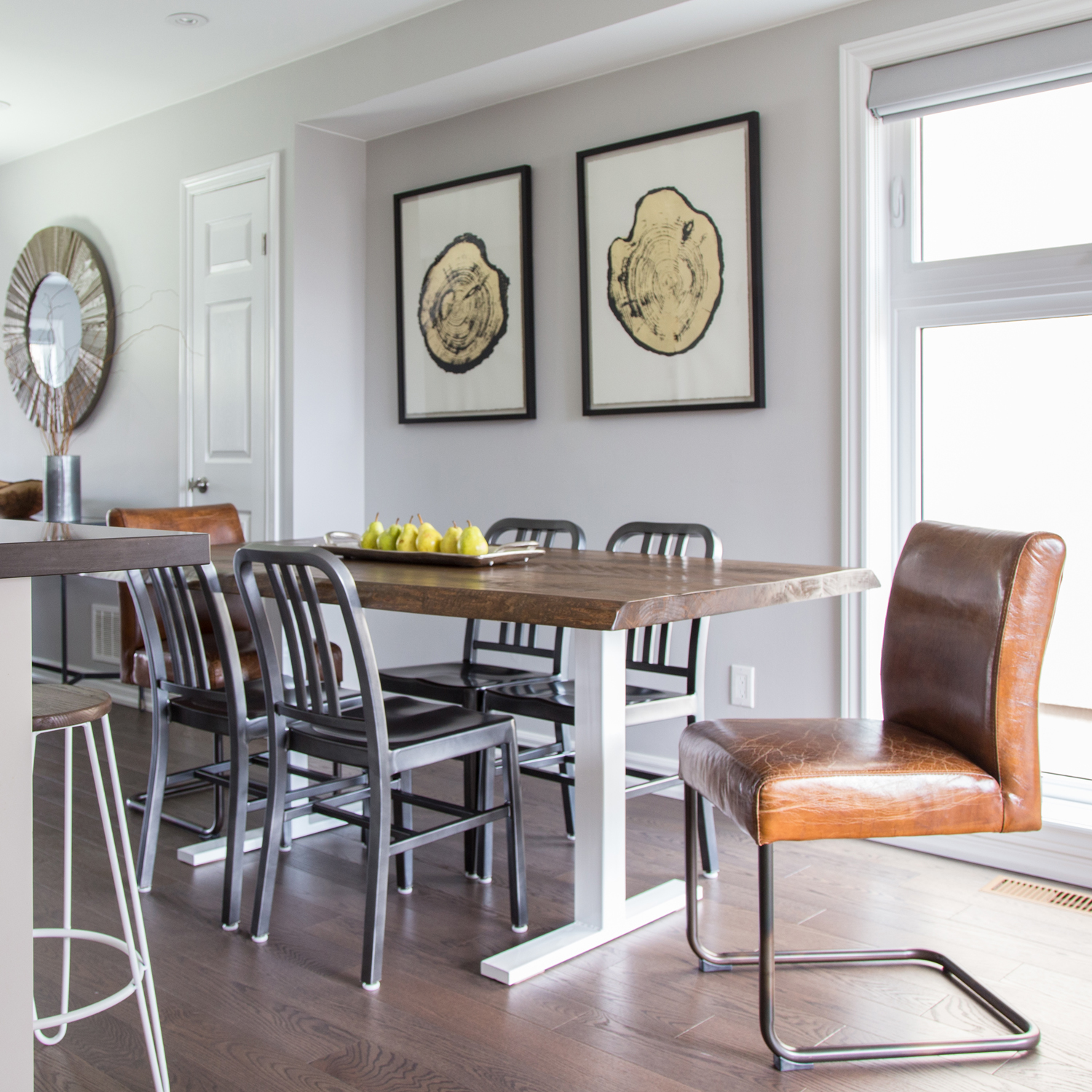 metal-and-wood-kitchen-table