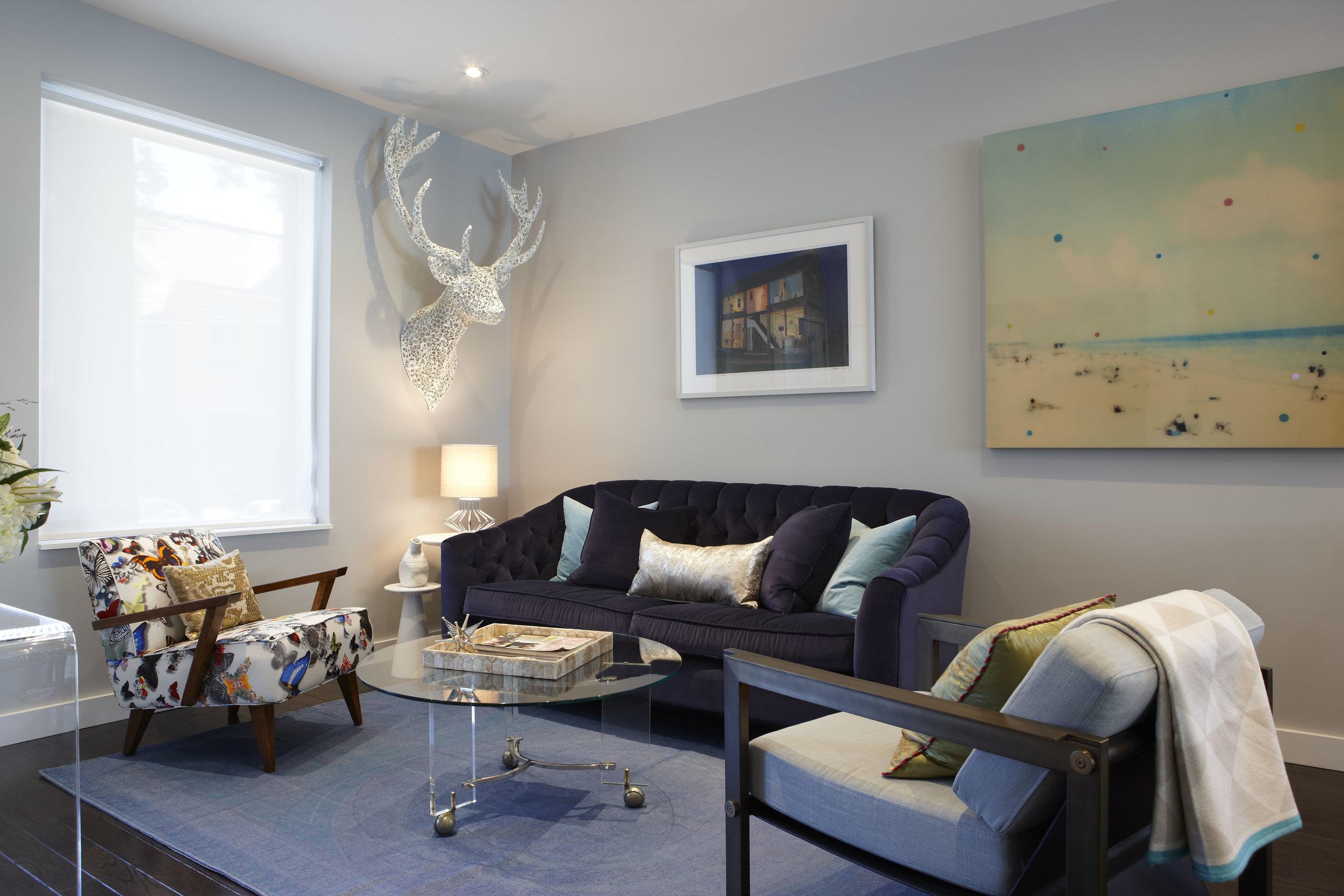 navy-velvet-couch-family-room