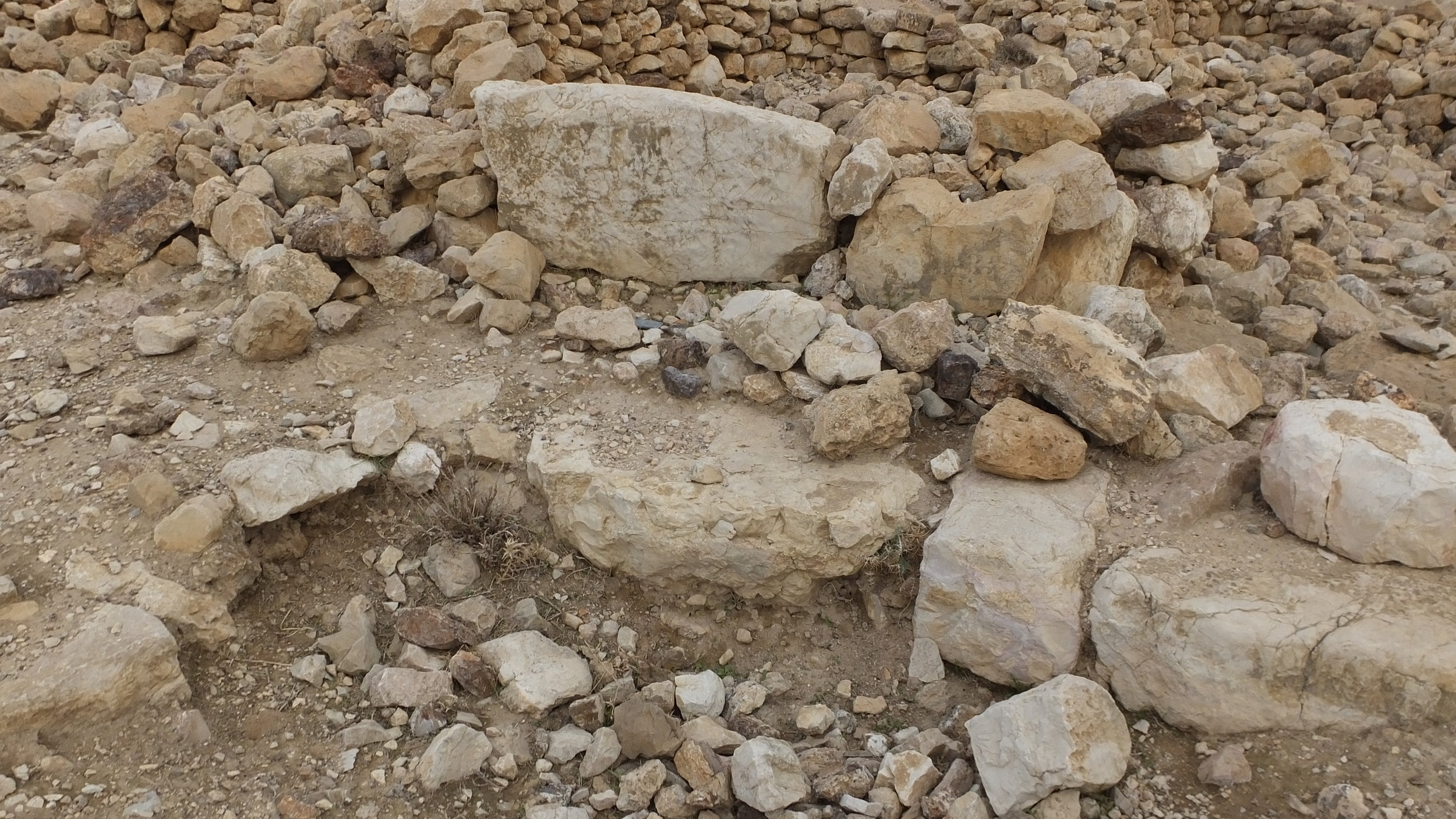 (10) In Some Places, an Earlier Wall is Visible Underneath the Remains Visible upon the Surface.jpg