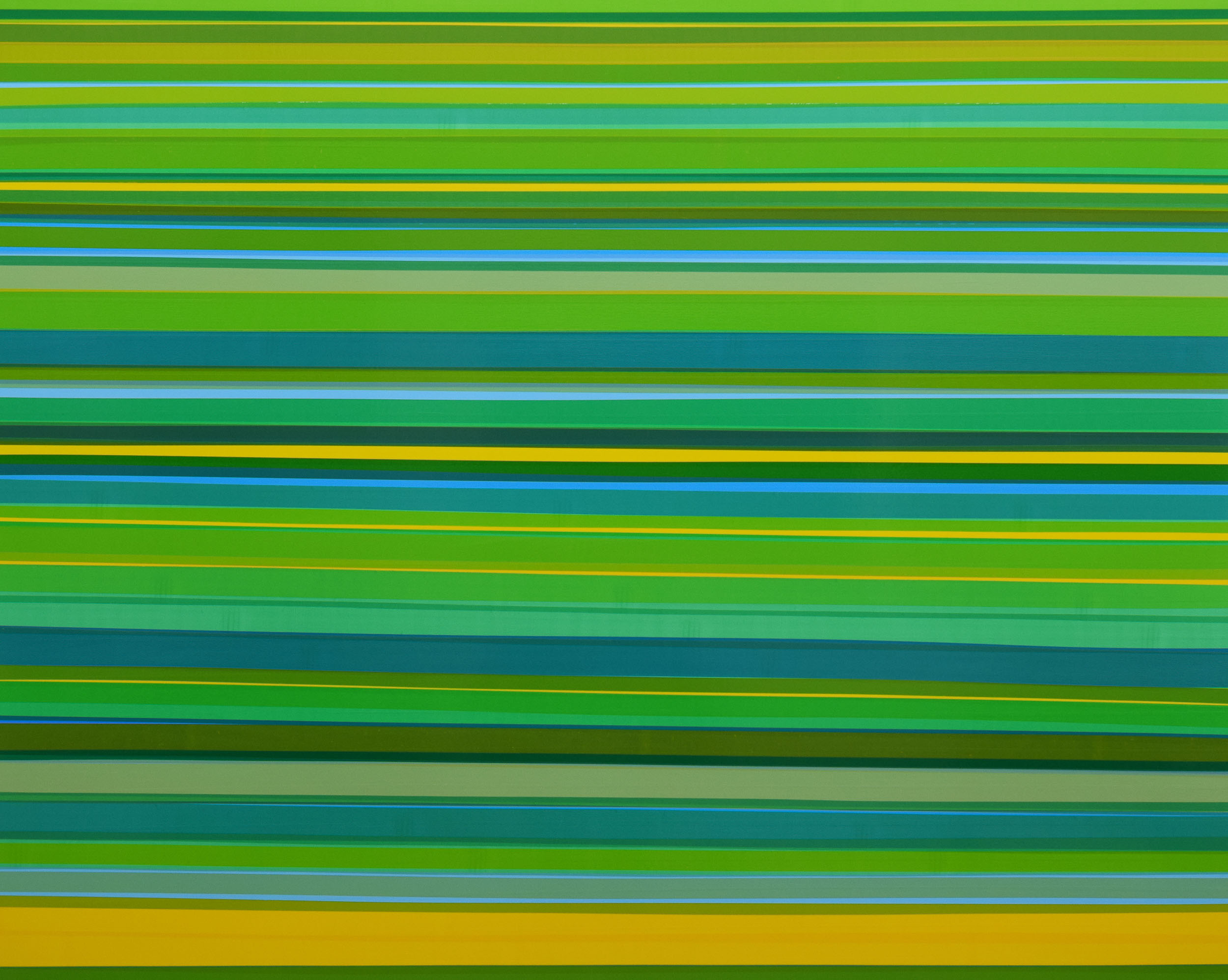 Grove, 2015, semi-transparent tape on panel, 48 x 60 inches