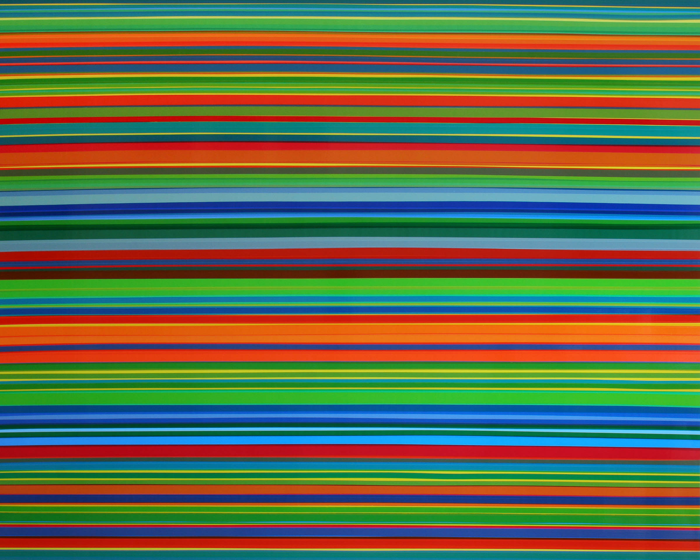 Sometimes I See It All, Doesn't Last Long, 2013, semi-transparent tape on panel, 48 x 60 inches