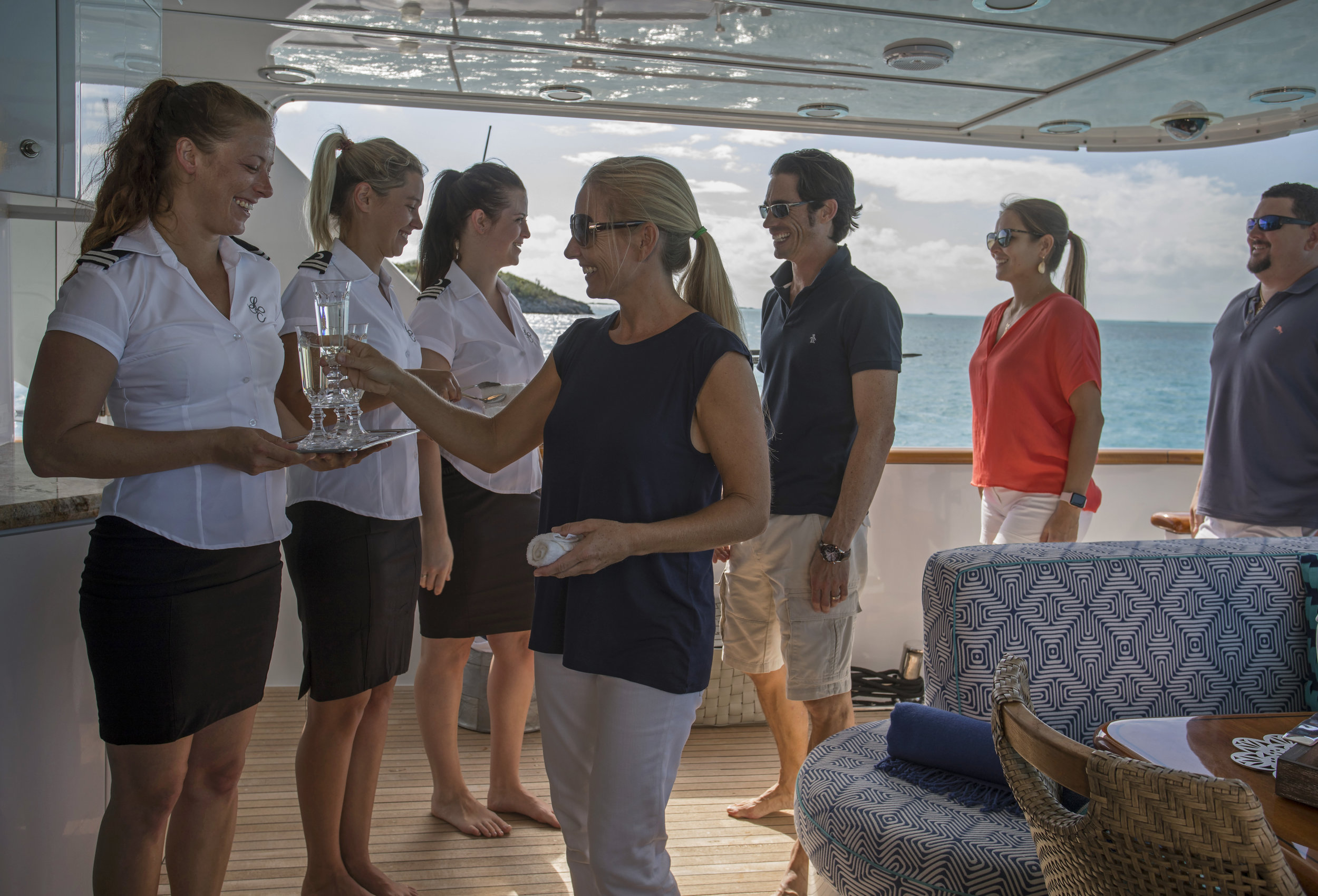 yacht-sweet-escape-crew-teak-welcome-luxury-welcome-to