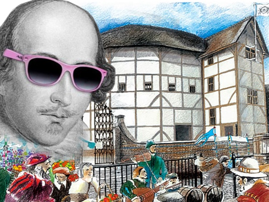 Shakespeare by the Sea. Art courtesy of the Palm Beach Shakespeare Summer Festival.