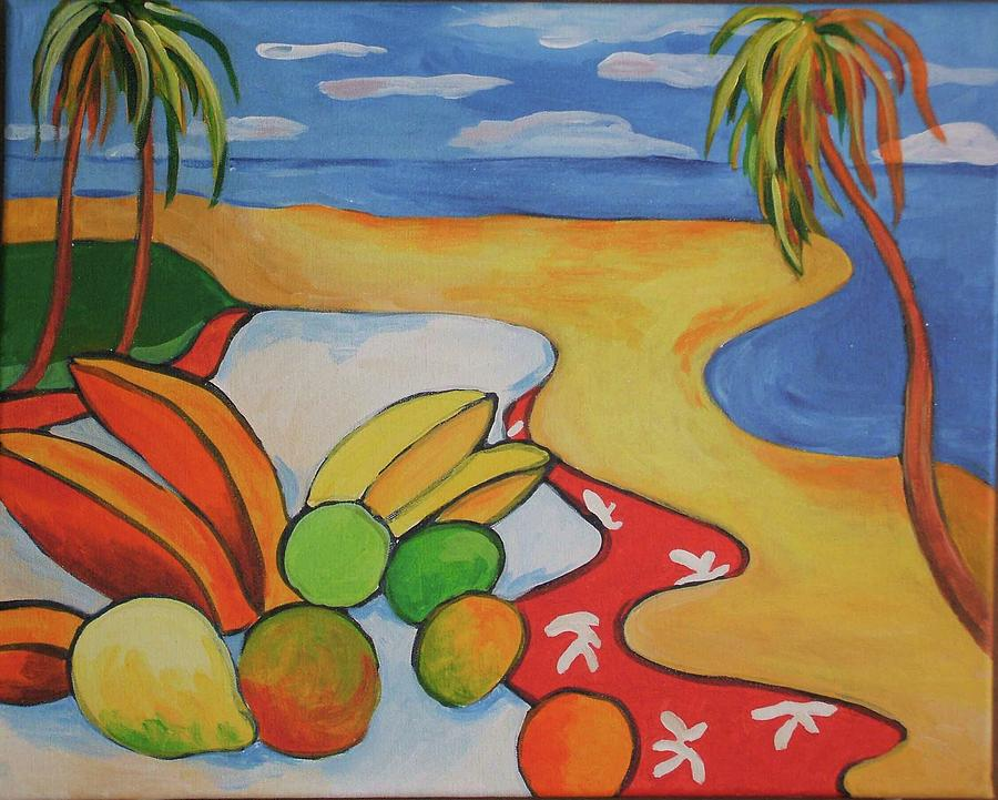 Coconuts and Mangoes are Sea-Drifts.