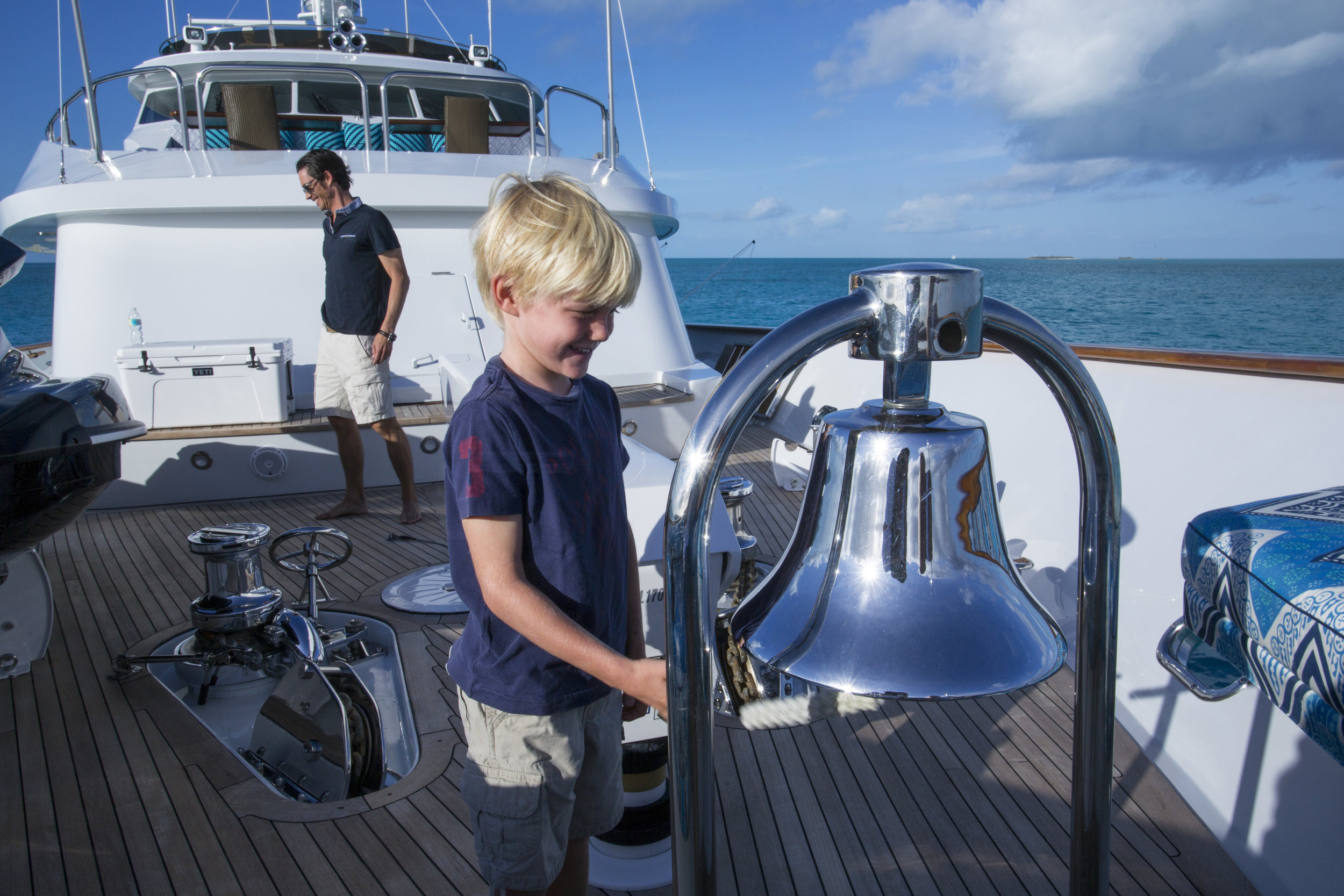 yacht-sweet-escape-tenders-in-tow-charter-toys-nortech-AB-AR190-bell-name