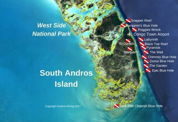 Andros-Diving-Site-Map-Green-Turtle-Cay-andros-blue-hole-dive-yacht-sweet-escape-destinations