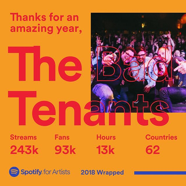 It's hard to express how grateful we are to all of you that support what we do.  Thank you for a great 2018! 🥂