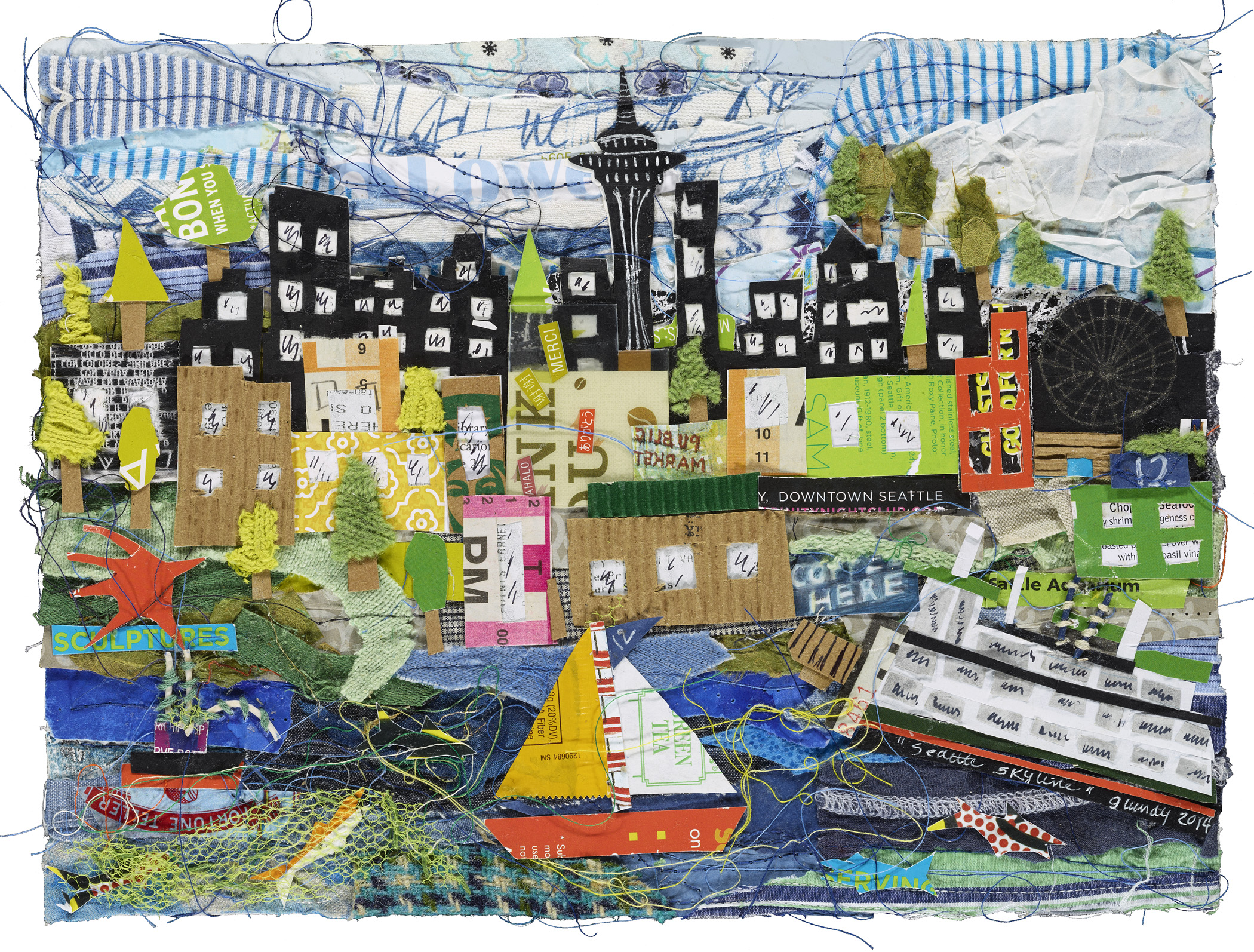 Seattle Skyline #2 -