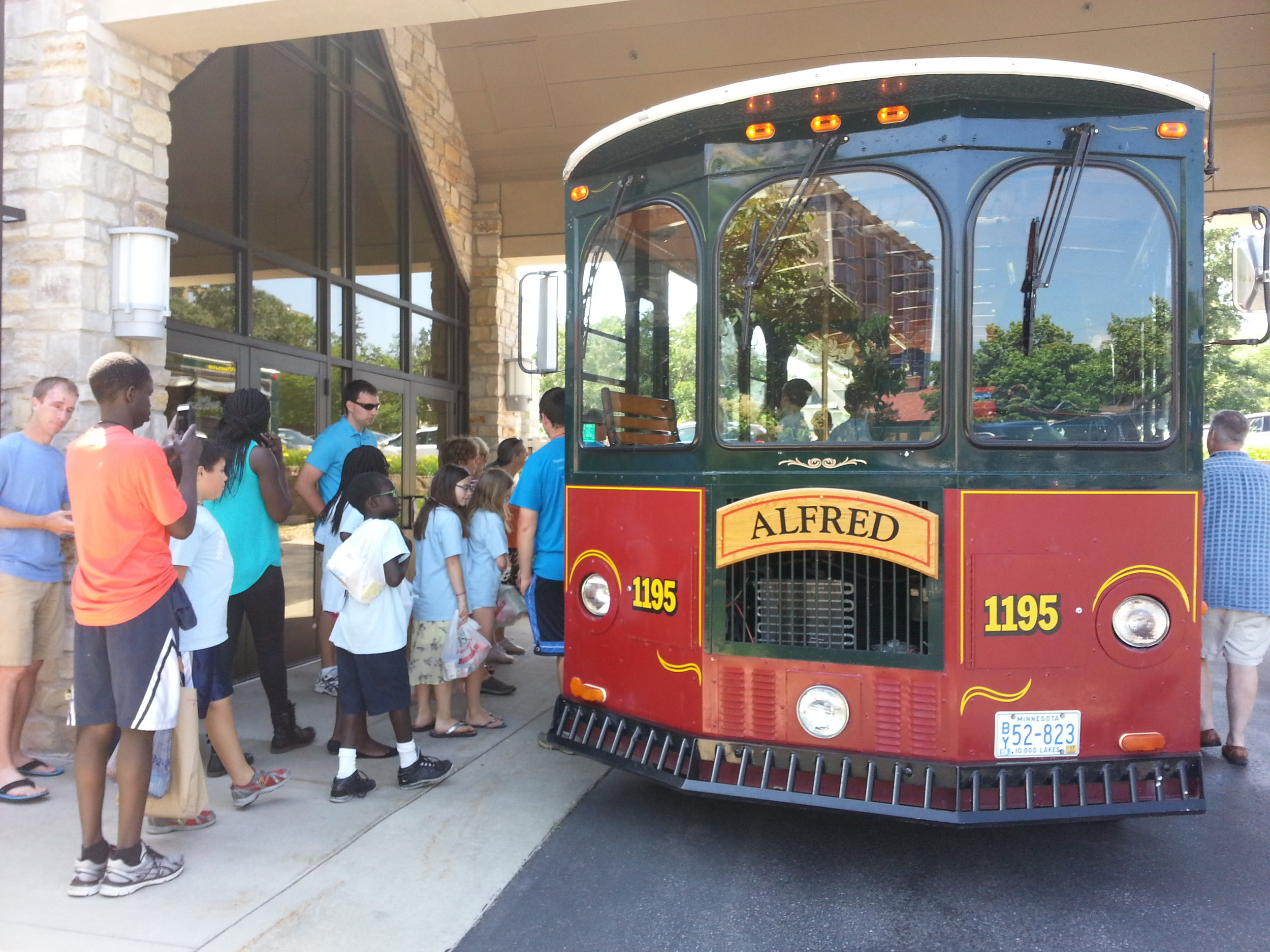 2016 VBS Trolley to Pinewood Elementary.jpg