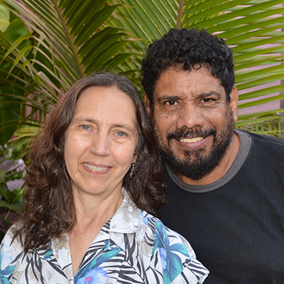 Rev. Dr. Karla Ann Koll & husband Javier Torrez