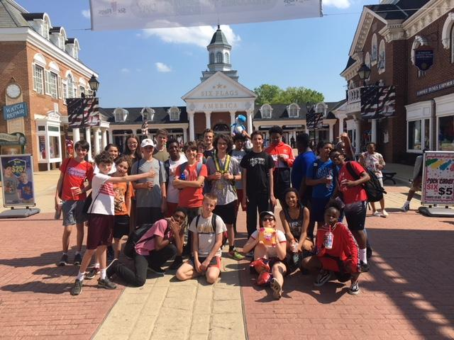 8th graders field trip at Gettysburg National Historic Park