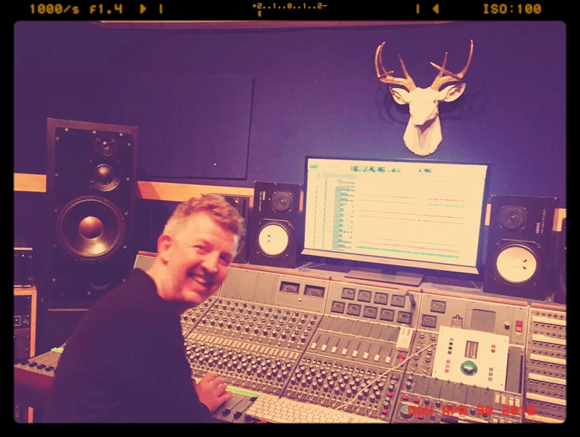 Dan Swift at Brighton Electric Studios