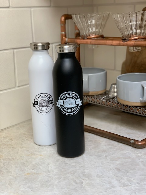 Custom Den Member Water Bottles