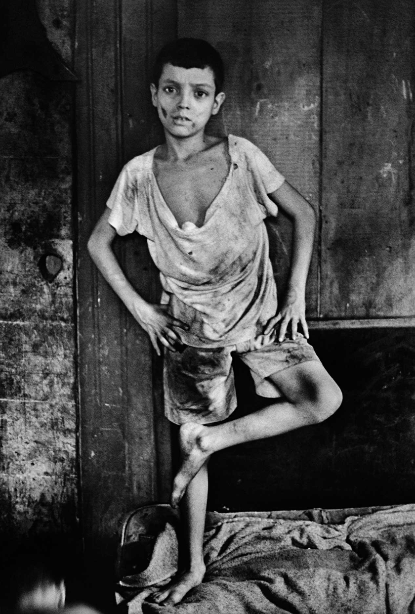 Gordon Parks,  Flavio da Silva, Rio de Janeiro, Brazil , 1961. Courtesy of and copyright The Gordon Parks Foundation