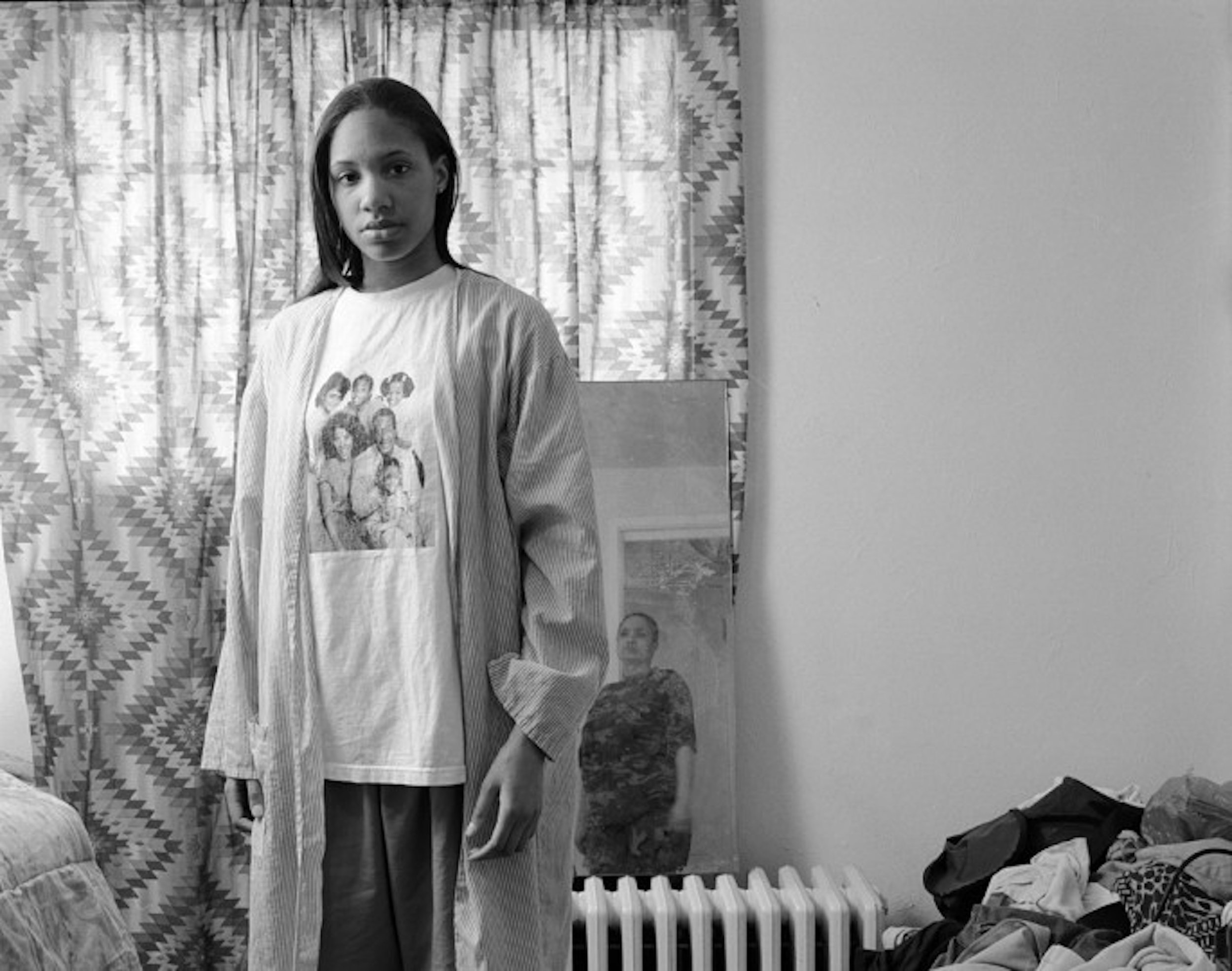 Huxtables, Mom and Me,  LaToya Ruby Frazier, 2008