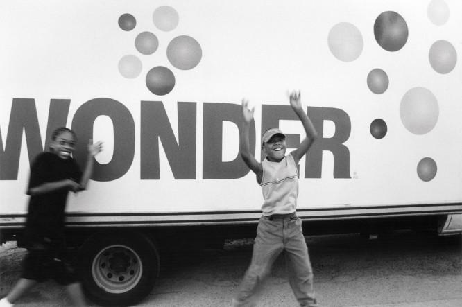 Pete Doherty,  Wonder Truck , 2003, Silver Gelatin Print, © Pete Doherty.