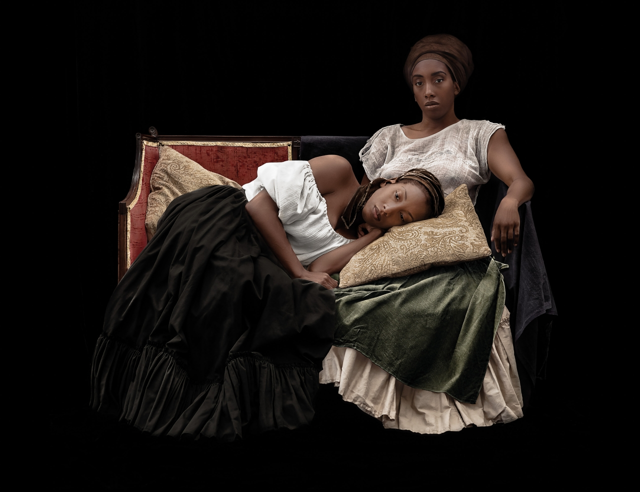 Ayana V. Jackson,  Moments of Sweet Reprieve , from the series  Intimate Justice in the Stolen Moment , 2017. Courtesy of the artist and Galerie Baudoin Lebon.