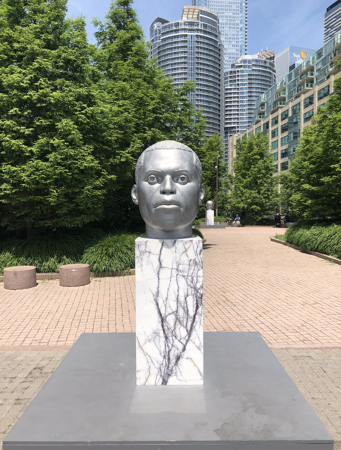 - Thomas J Price, Ordinary Men | The Power Plant, TorontoJune 22 - September 2, 2019The exhibition at The Power Plant, Price's first in Canada, features a series of sculptures in varying sizes. Inside the gallery, a newly commissioned work is presented alongside several smaller bronzes and photographs that challenge the erasure of black bodies within the traditions of classical sculpture.Curated by Justine Kohleal, RBC Curatorial Fellow