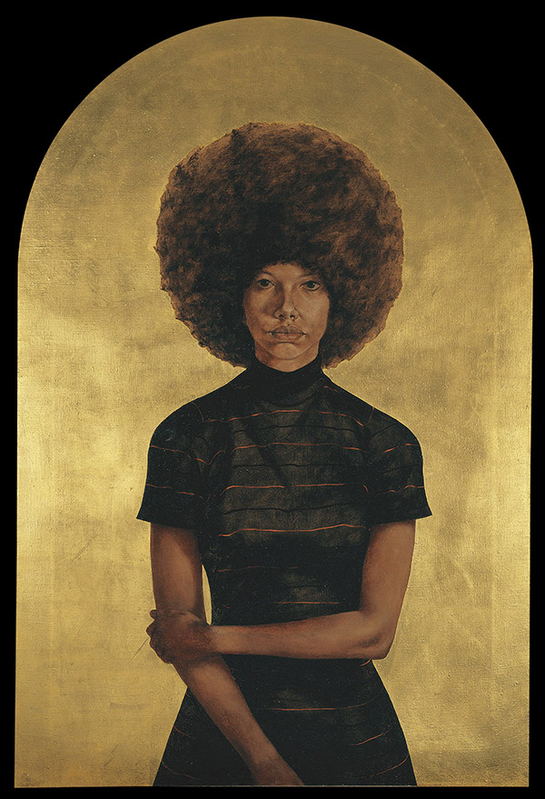 - Black Refractions: Highlights from the Studio Museum in Harlem | The Gibbes Museum of Art, Charleston, SCMay 24 - August 18, 2019With works in all media from the 1930s to the present, this will be the first traveling exhibition to reflect the full breadth of the Studio Museum's unparalleled permanent collection. The exhibition, including work by artists such as Romare Bearden, David Hammons, Norman Lewis, Wangechi Mutu, and Lorna Simpson, will expand understanding of modern and contemporary art by artists of African descent.image: Barkley Hendricks, Lawdy Mama, 1969, Oil and gold leaf on canvas.