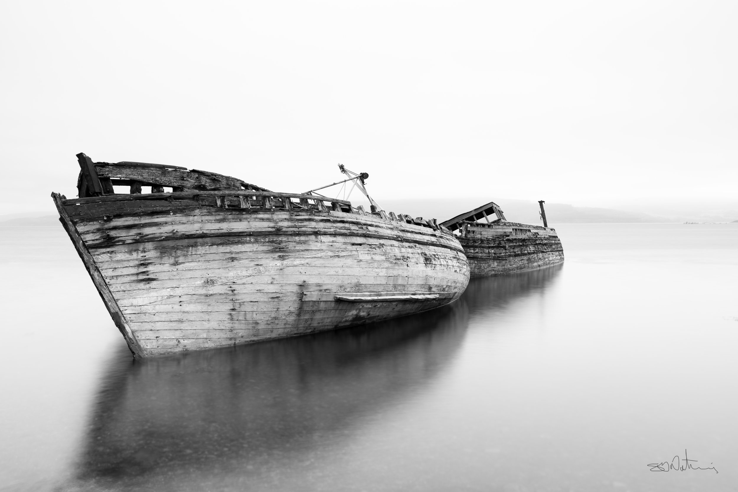 Salen Fishing Boats