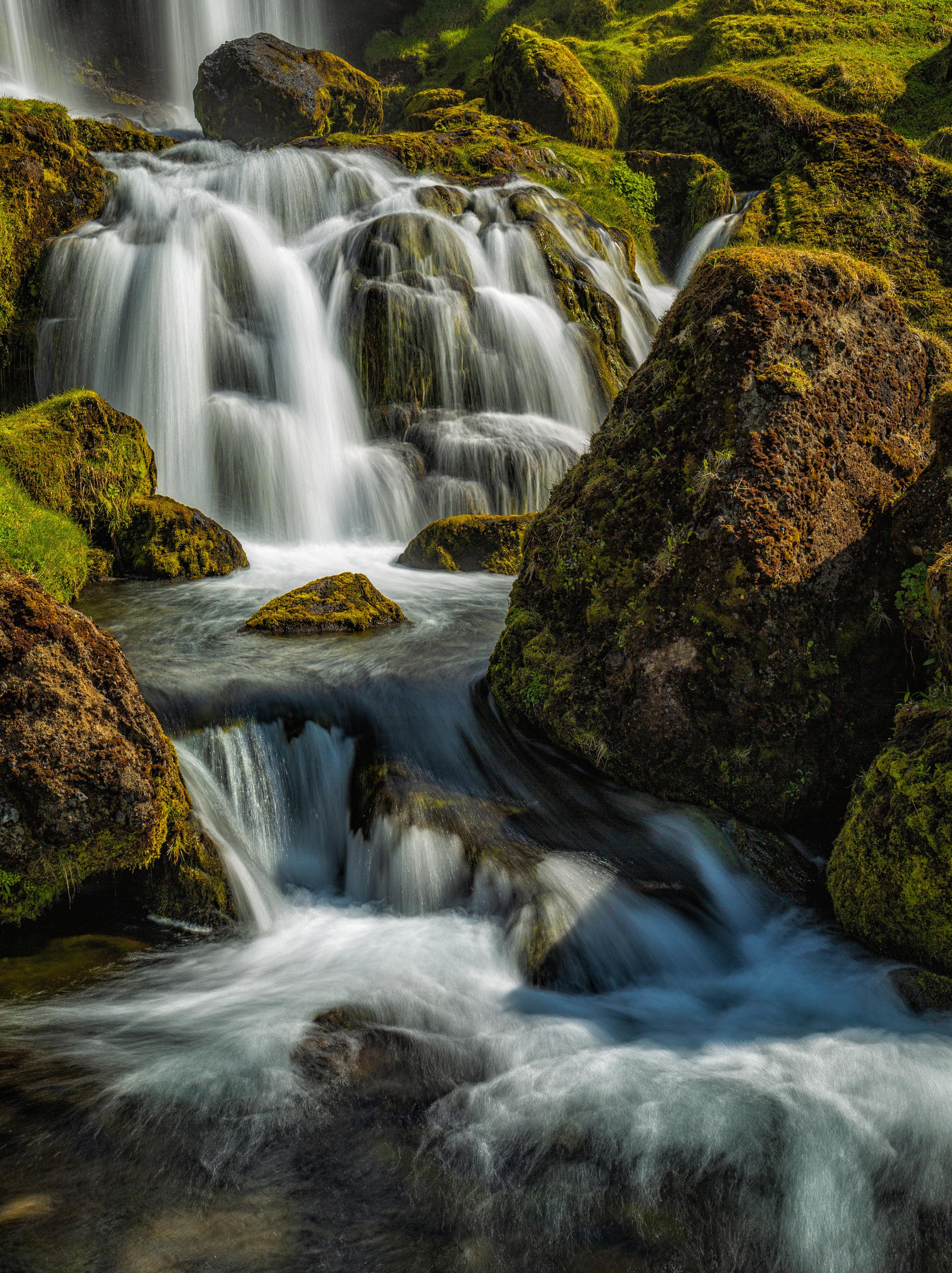 Sheeps Waterfall - Iceland