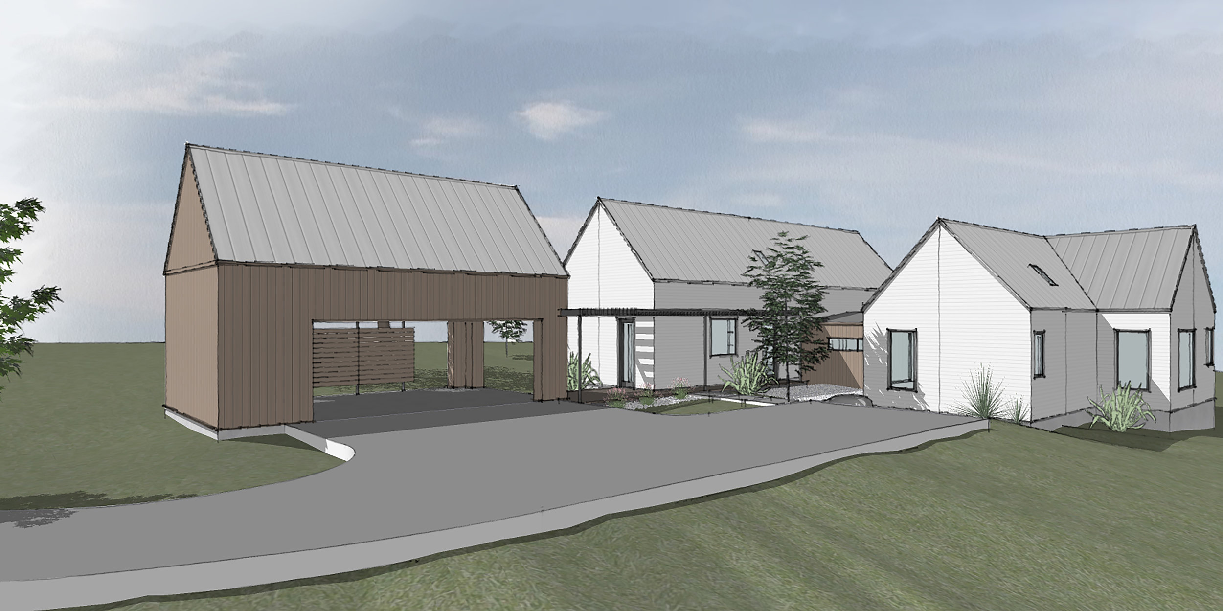 201 Terra Scena Trail - FOR SALE!Taking reservations now for this beautiful 4 bedroom, 3 bath Scandinavian modern home by Tim Brown Architecture.Construction starting Summer 2019 - reserve now and customize finishes and fixtures!