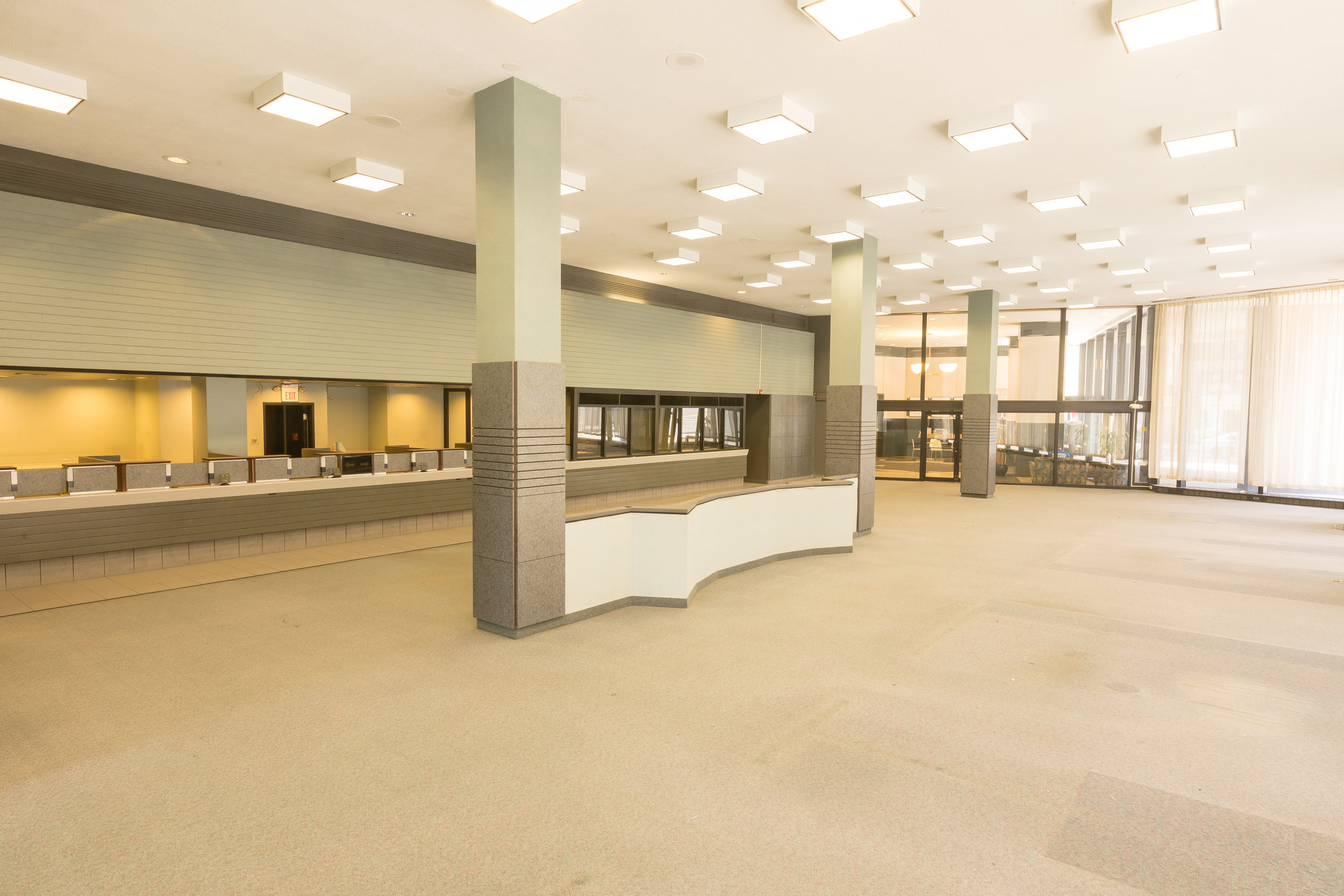 The CrossRoads Building has over 12,000 square feet for your business.