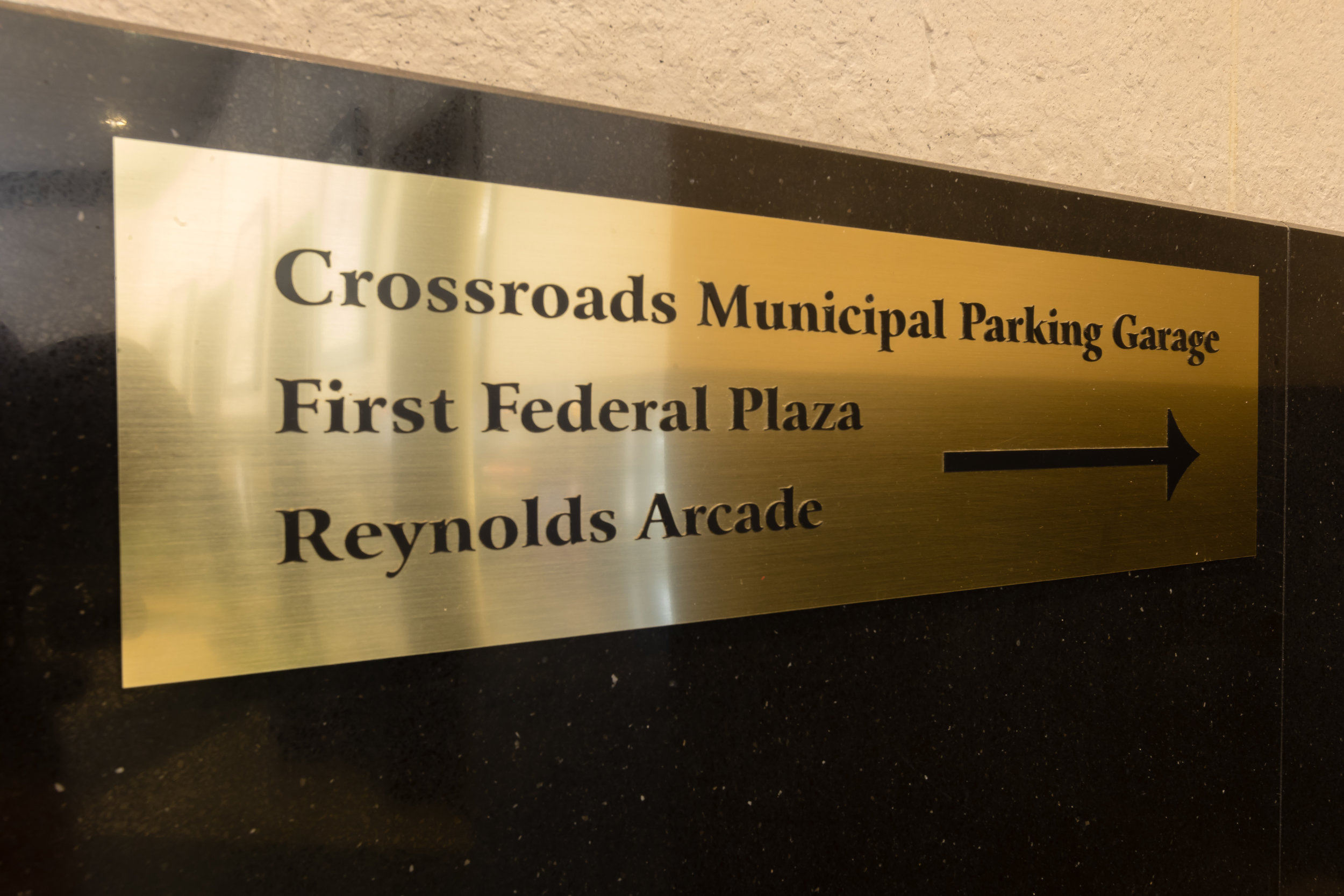 The CrossRoads Building is located on 2 State Street in Rochester, NY.