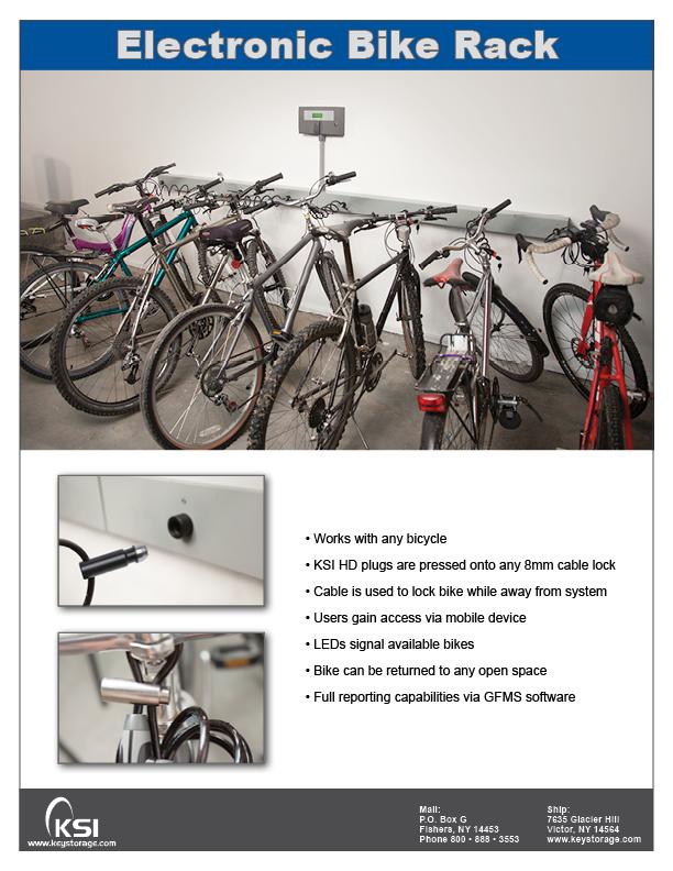 KSI Electronic Bike Rack PDF