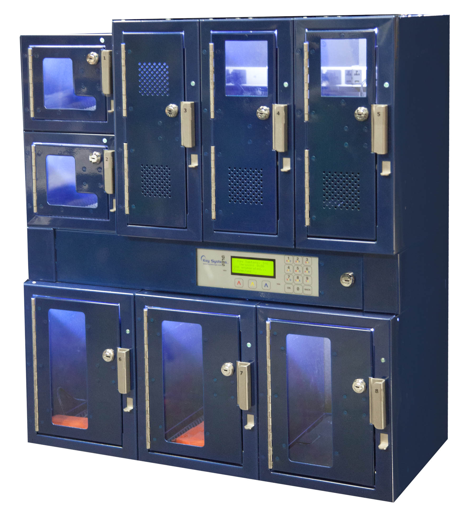 Blue Smart Locker Demo