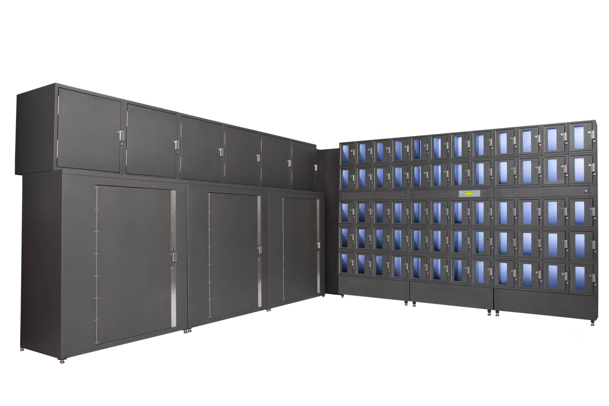 Large Locker Installation