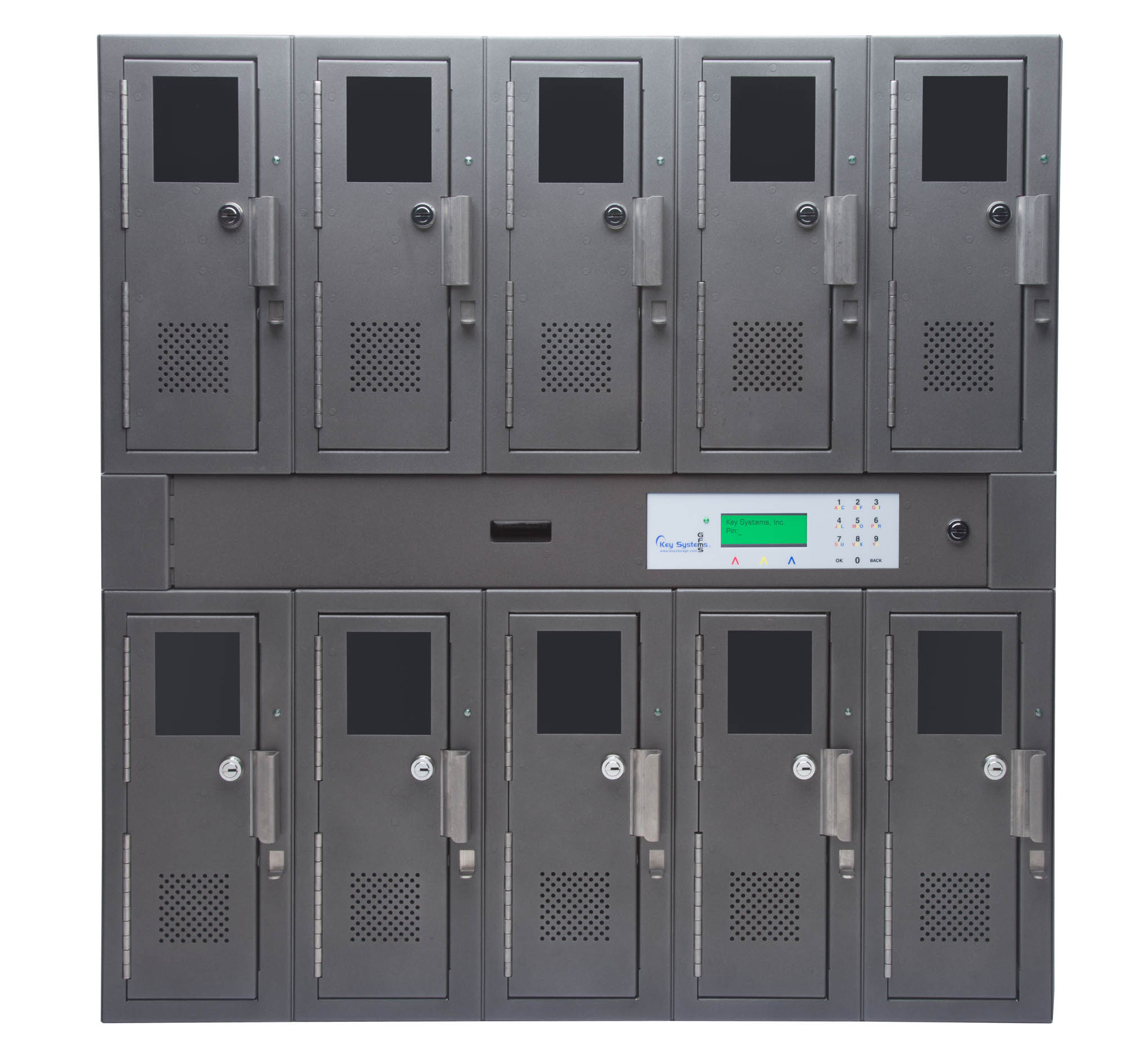 10 Locker Unit 1