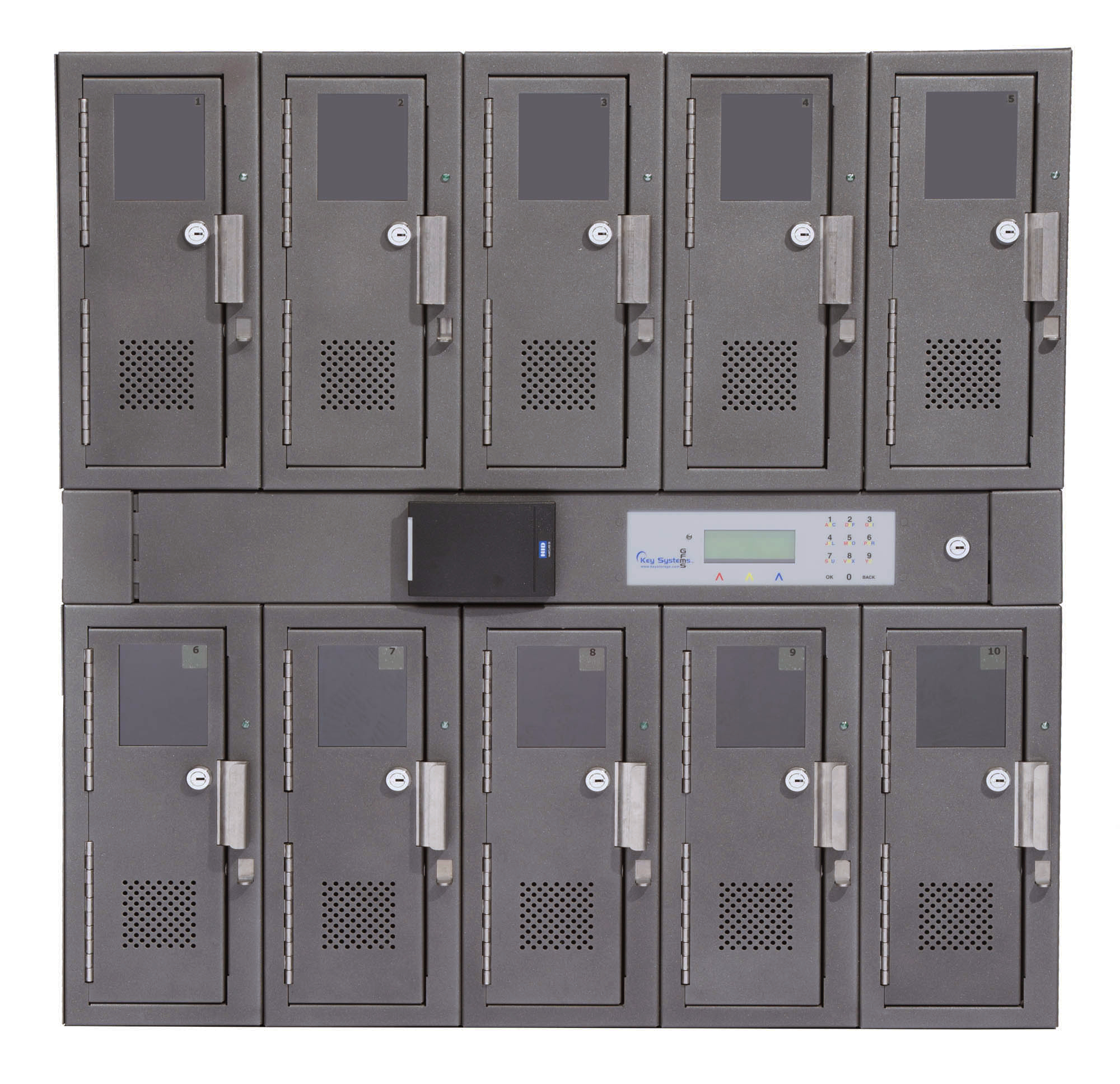 10 Locker Unit 2
