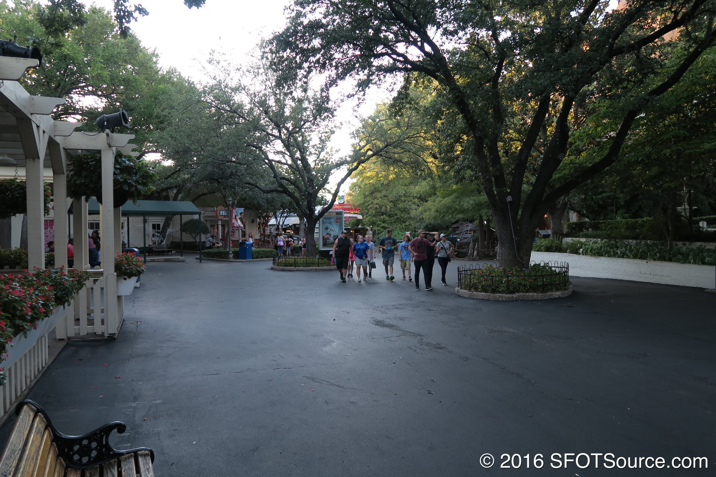 The pathways of Old South.