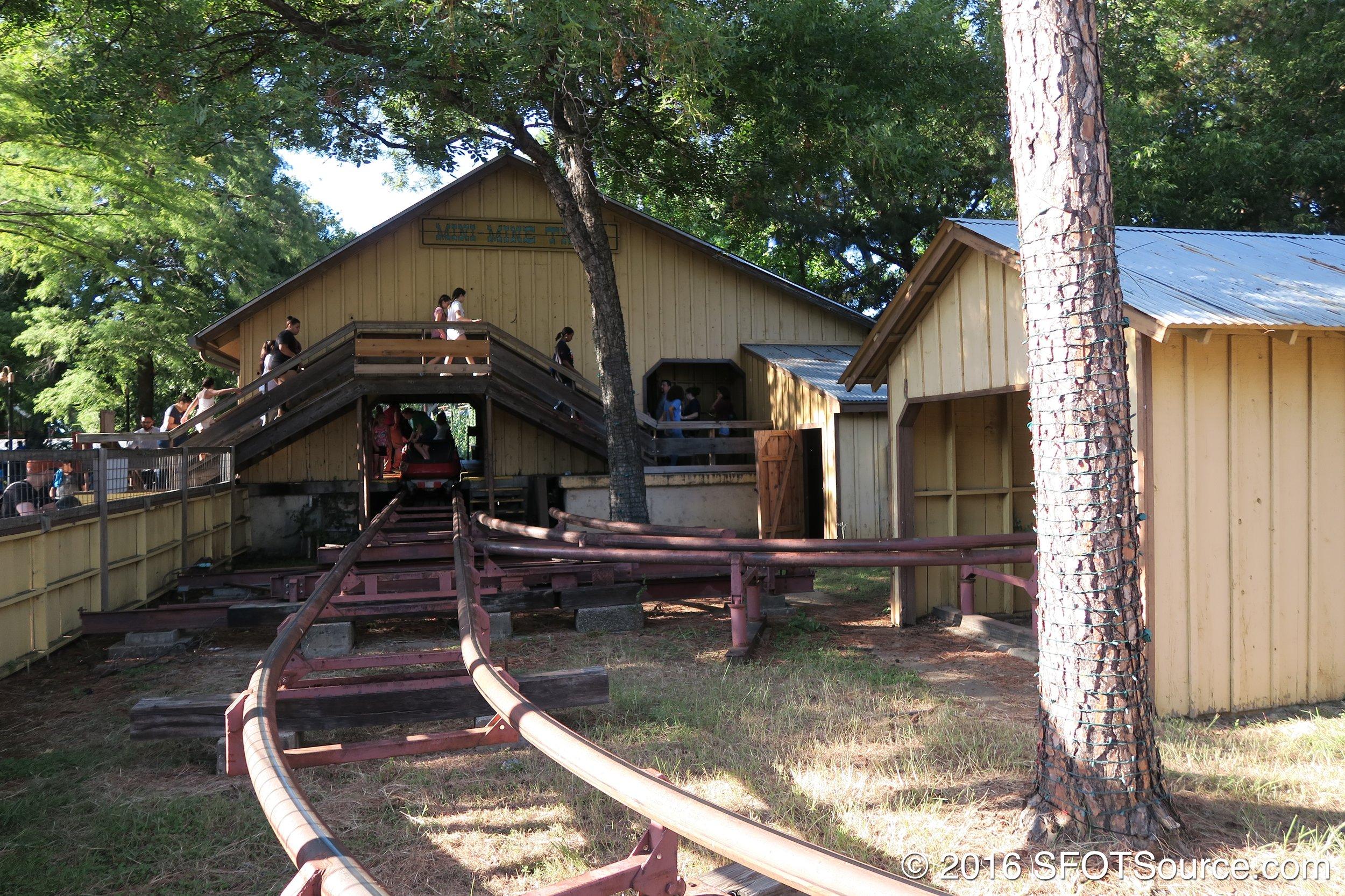 The Mini Mine Train station.