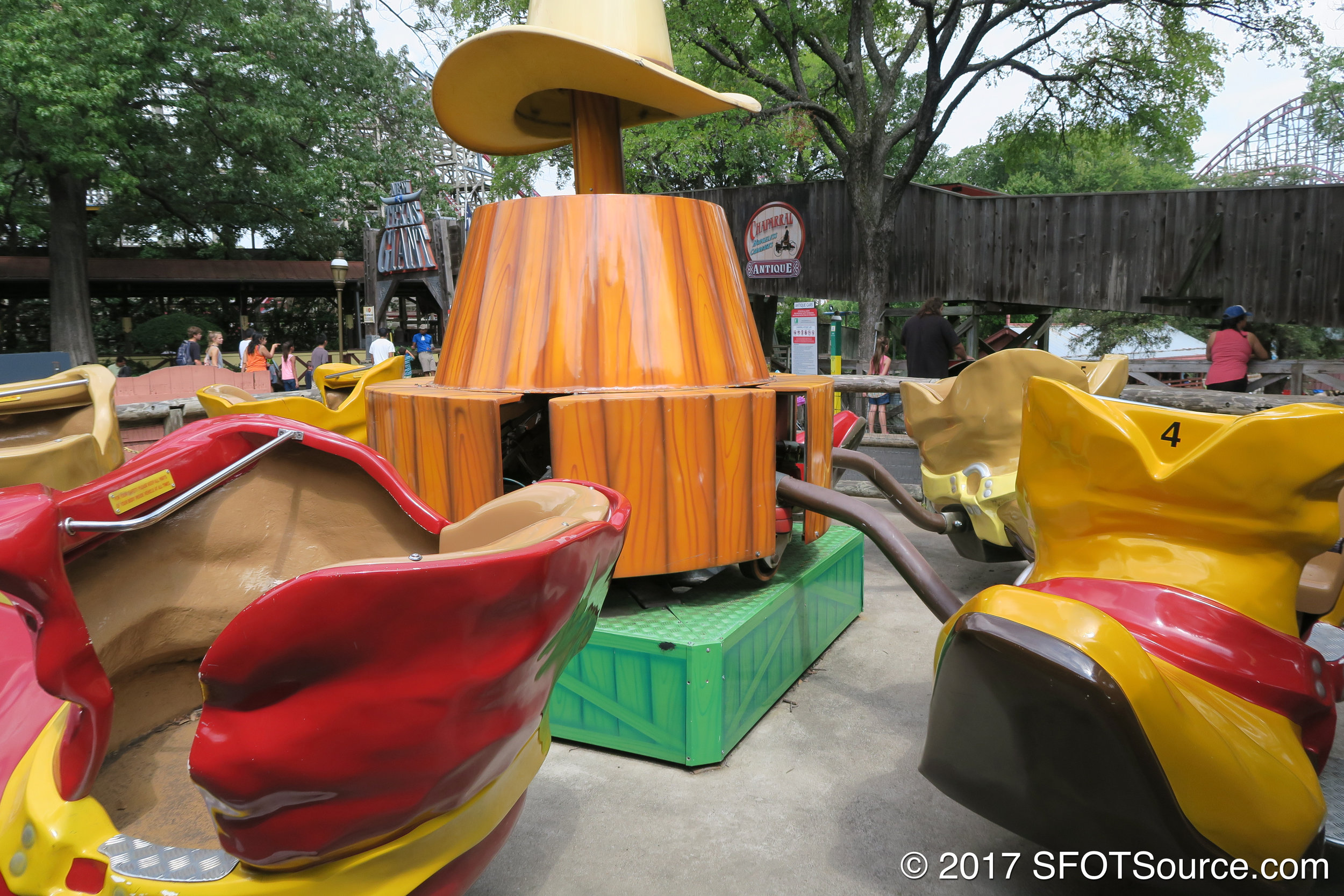 Boot Scootin' was installed in 2006.