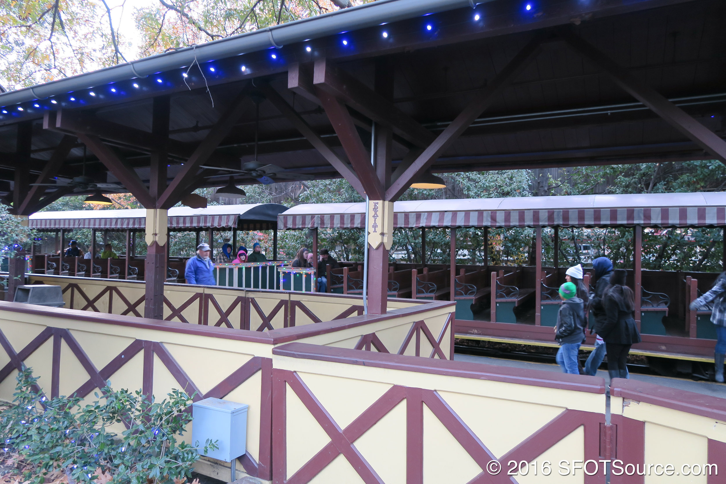 Guests can board at Texas Depot and take a trip over to Boomtown Depot.