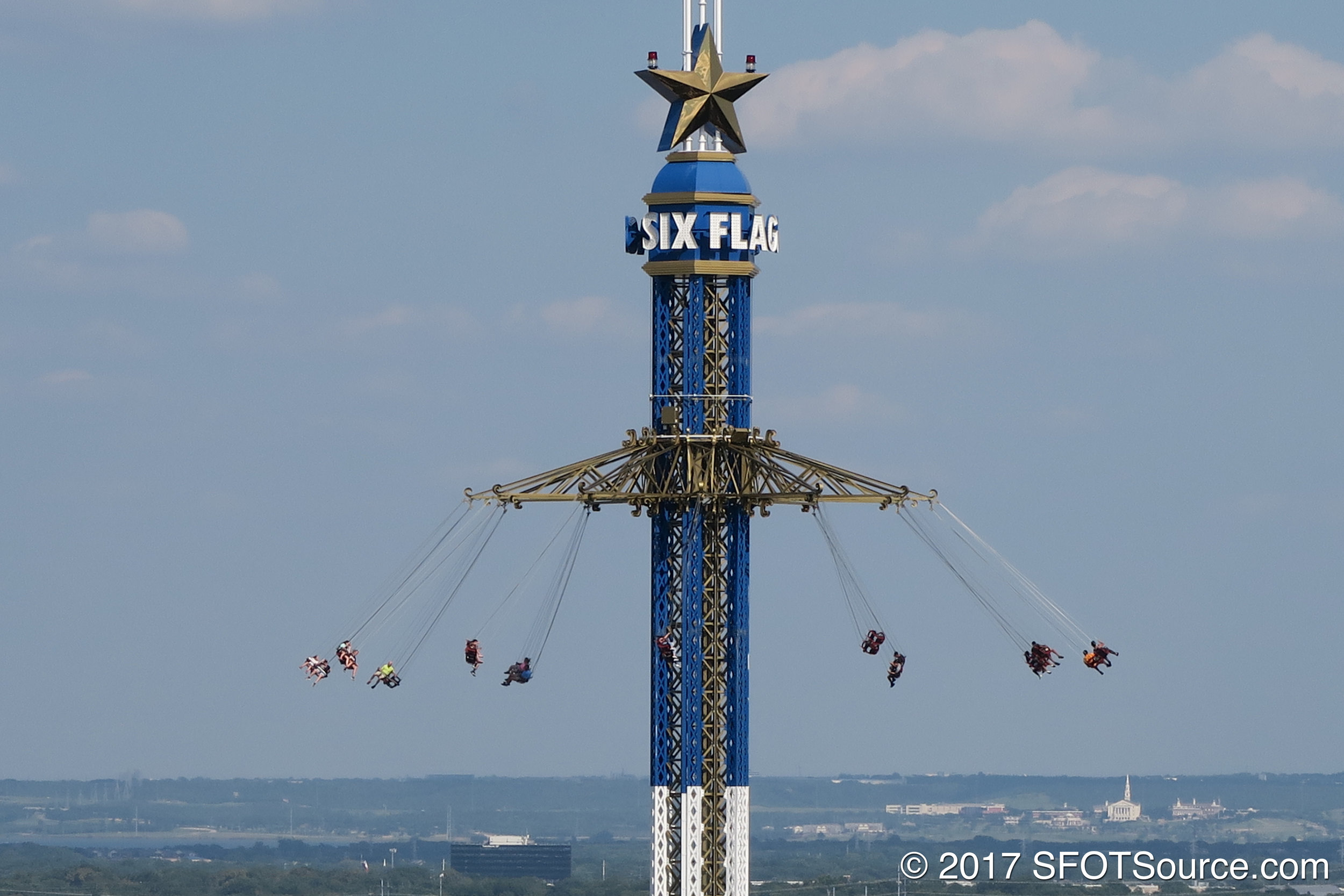 A look at Texas SkyScreamer from Oil Derrick.